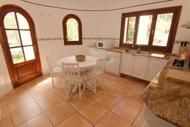 Villa Ibiza Kitchen