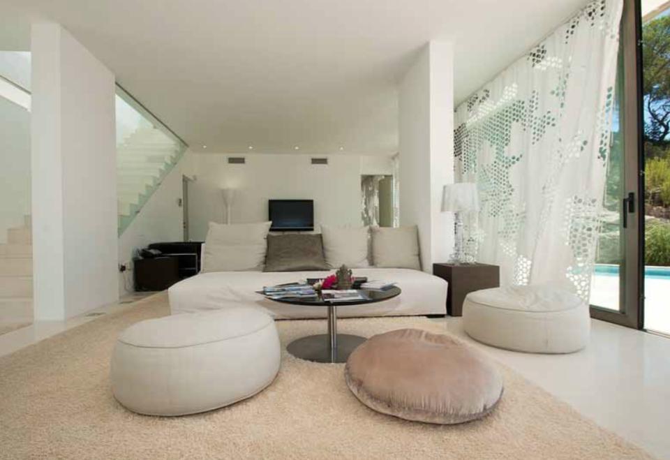 Villa Ibiza Luxury Exclusive Vip Amazing View Beautiful Sitting Room