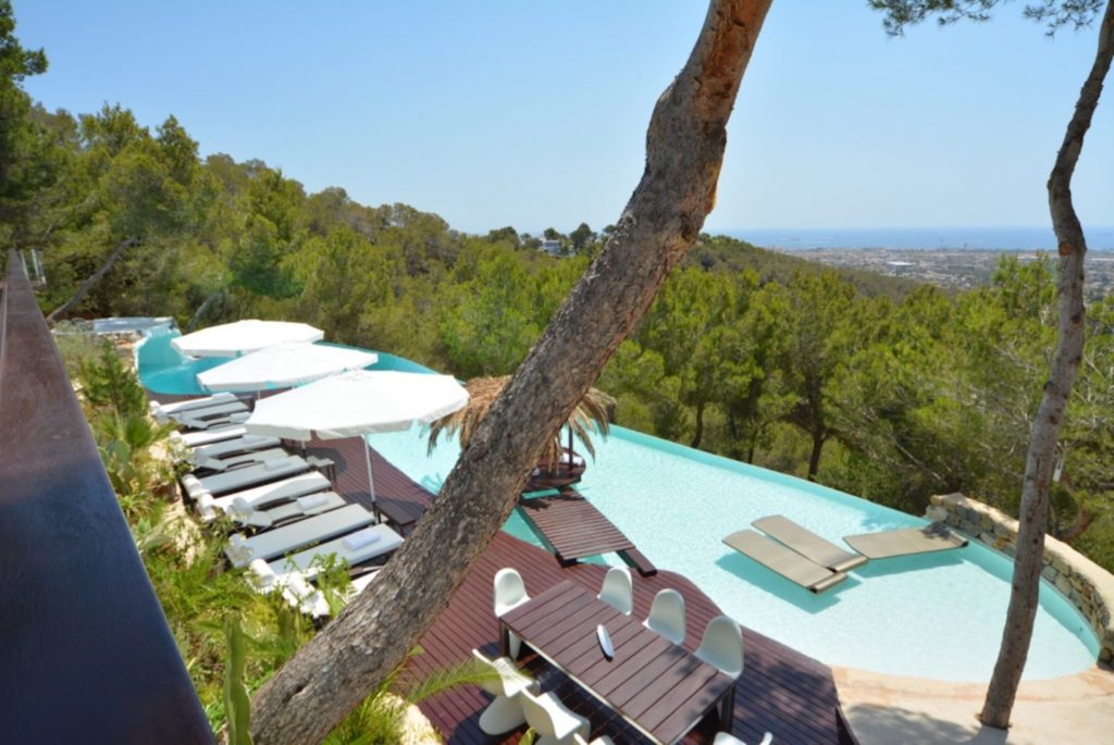 Villa Ibiza Pool Relax Sunbed Daybed Luxury Incredible Roca