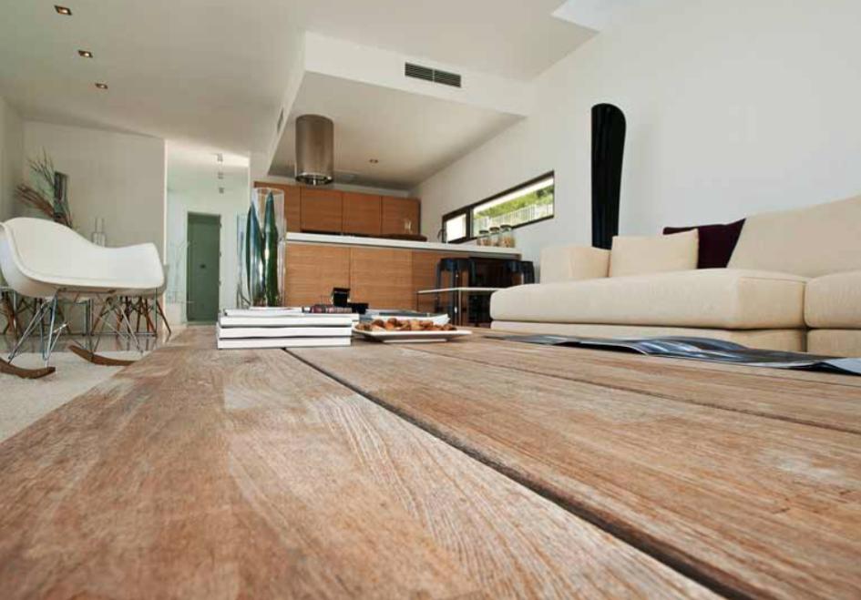 Villa Ibiza Wood Interior Modern