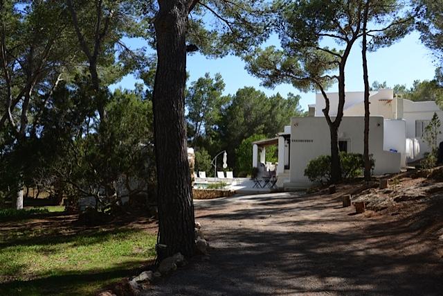 Villa In The Country Entrance Ibiza