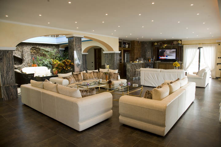 Villa Living Area Ibiza