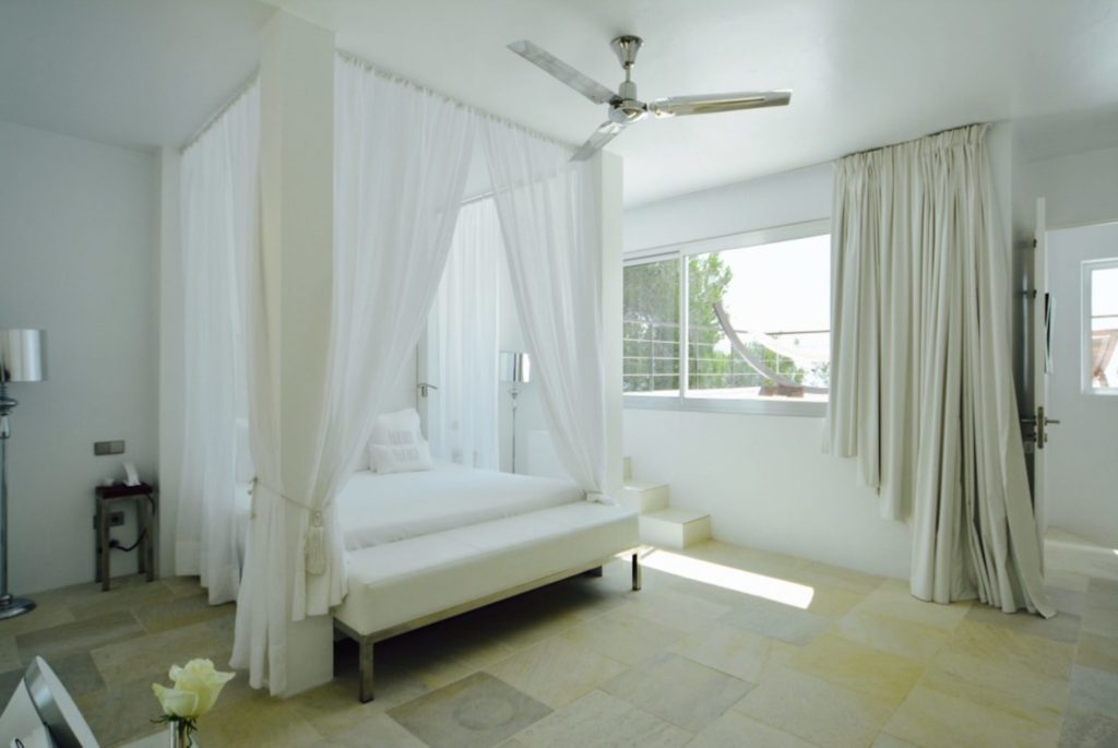 Villa Master Bed Ibiza