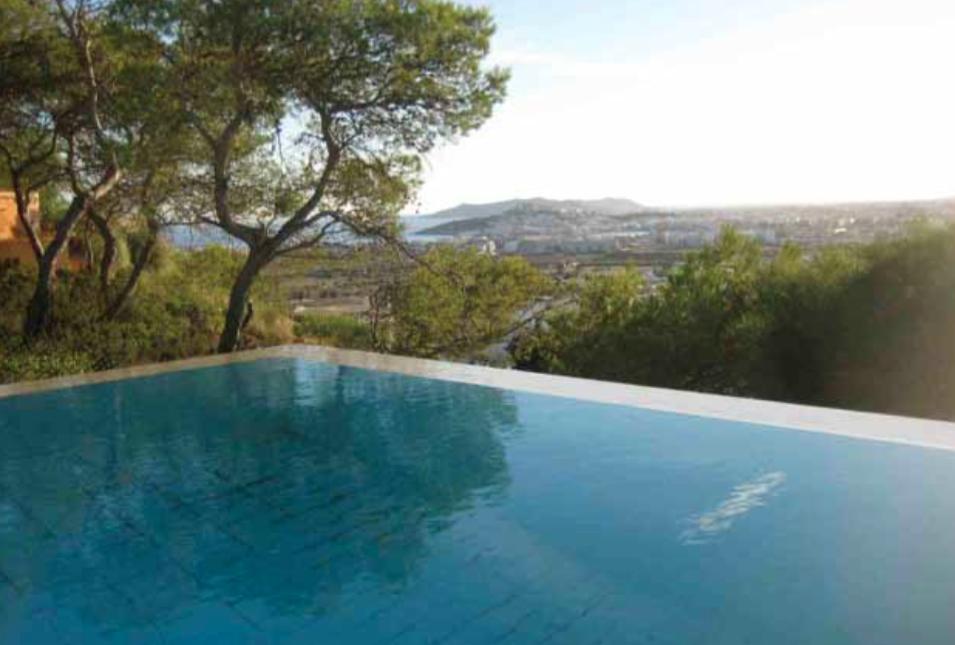 Villa Modern Ibiza Pool Infinity