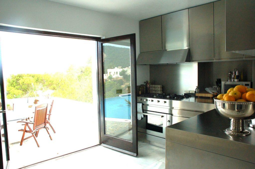 Villa Pool Area Ibiza