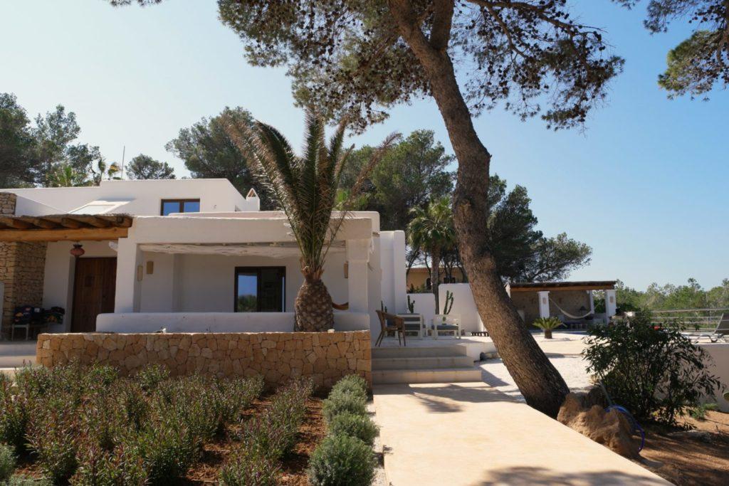 Villa Rustic Ibiza Trees Garden Verranda