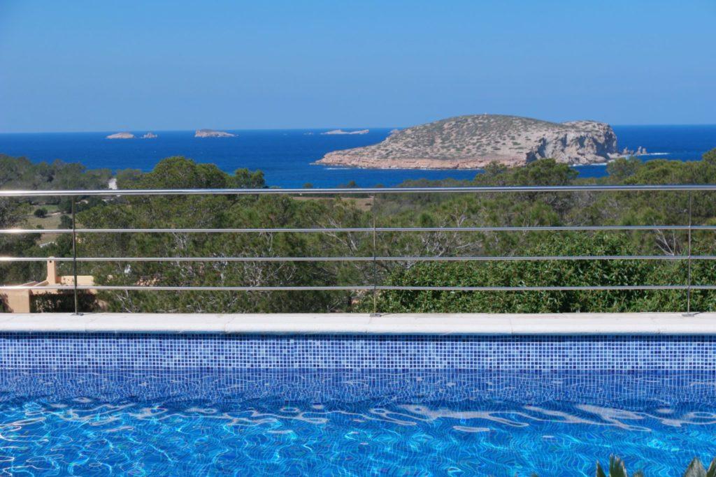 Villa Sea View Plant Trees Pool Ibiza