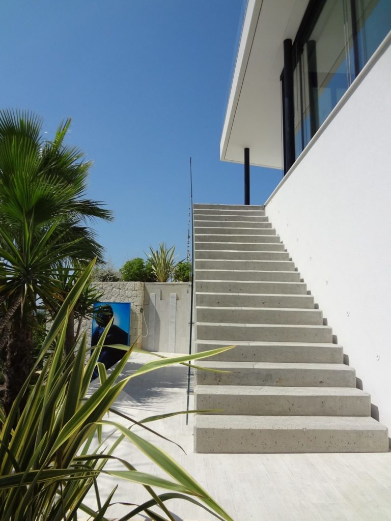 Villa Side Stairs Ibiza