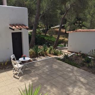 Villa Terrace Ibiza White