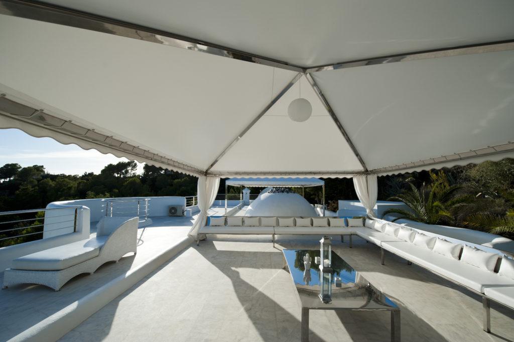Villa Terrace Sky Lounge Ibiza