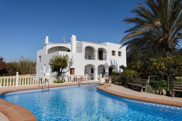 Villa Views Ibiza Pool Arches