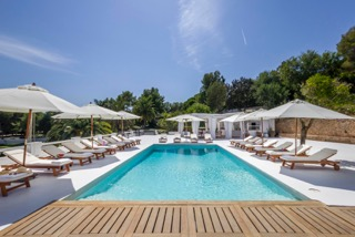Villas In Balearics Porroig Ibiza Poolside