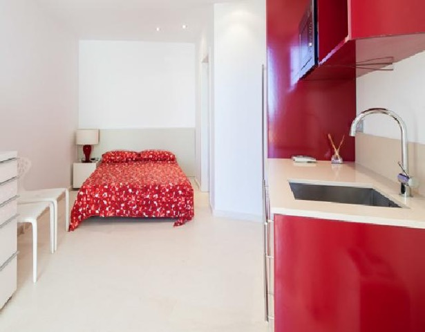 Wall To Wall Window Bedroom Chic White Stunning Ibiza Villa