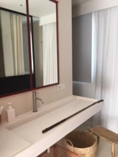 White Bathroom Cala Jondall 1
