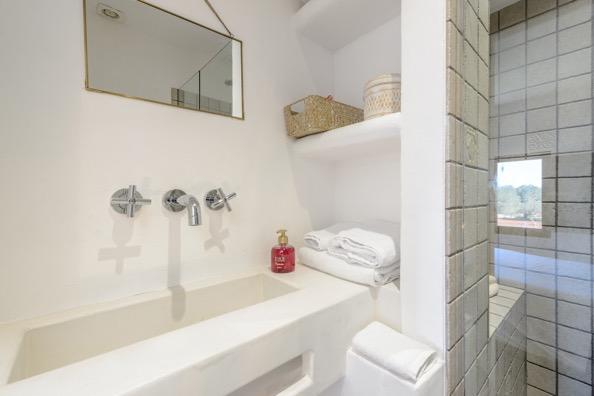 White Bedroom Ibiza Villa
