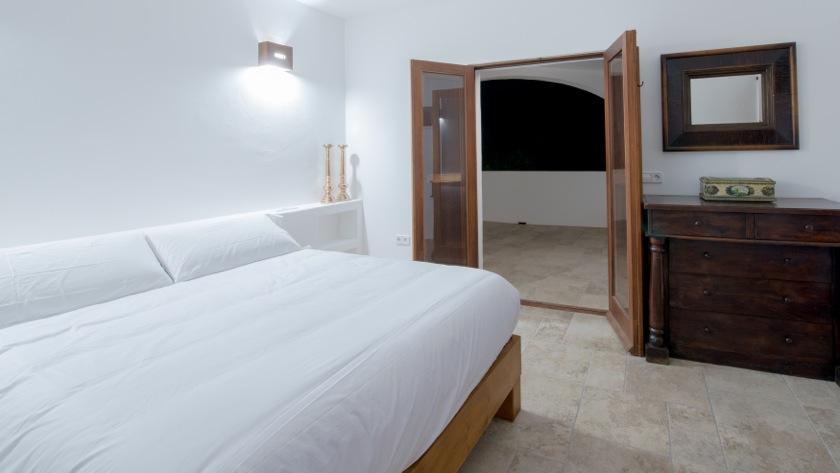 White Clean Chic Ibiza Villa