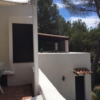White Ibiza Villa Exterior