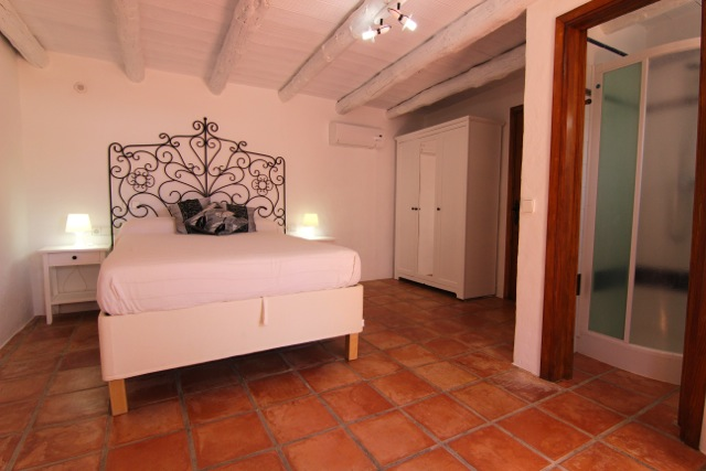 White Ibiza Wooden Beams Rustic Beautiful Villa
