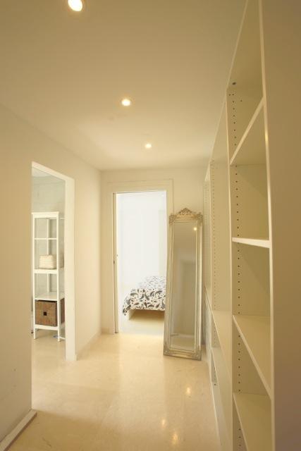 White Interior Hallway Ibiza Villa