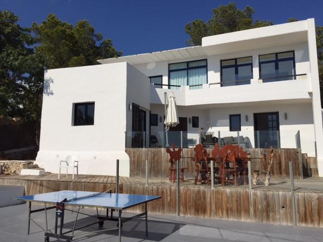 White Villa Ibiza Table Tennis Amazing Gorgeous