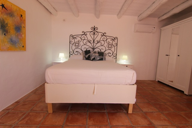 White Villa Ibiza Wooden Beams Rustic Beautiful