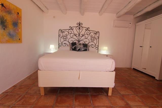 White Villa Ibiza Wooden Beams Rustic Beautiful
