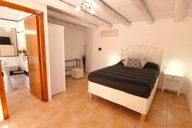 White Wooden Beams Rustic Beautiful Villa Ibiza