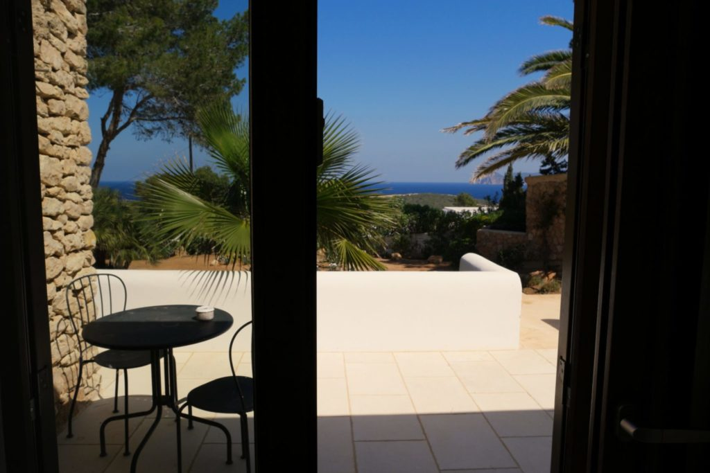 Window Villa Ibiza Sea View