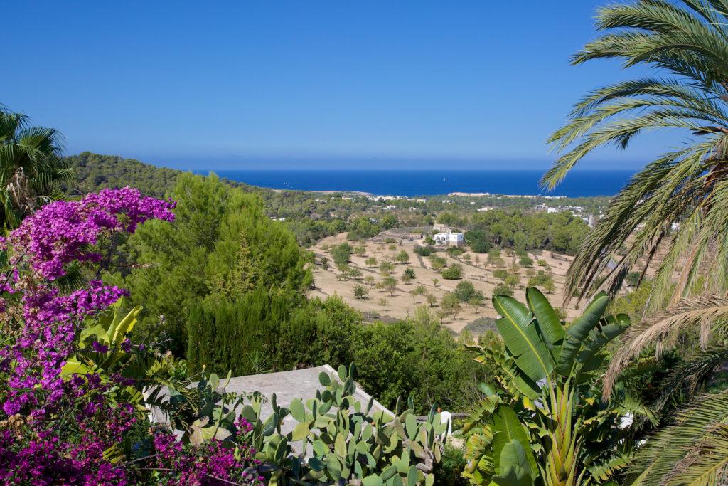Wonderful Sea Views Ibiza Villa Paradise