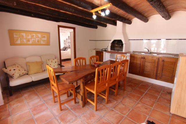 Wooden Beams Traditional Rustic Villa Ibiza