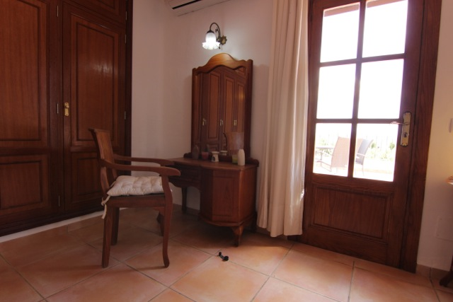 Wooden Sitting Room Ibiza Villa Rustic