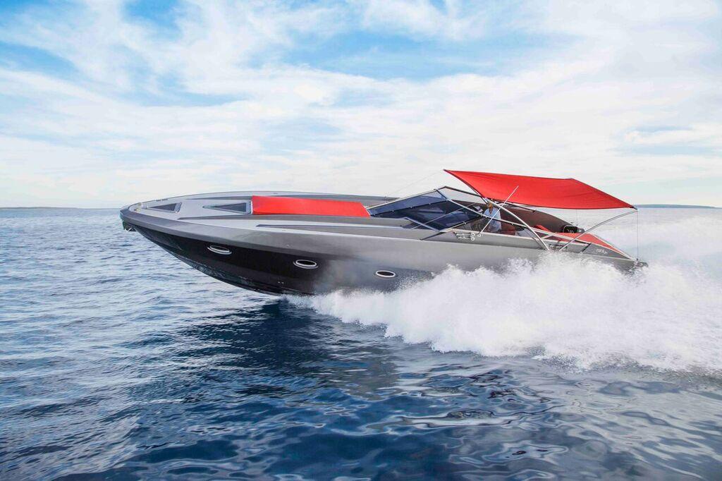 50 Stealth Attitude Ibiza Boat
