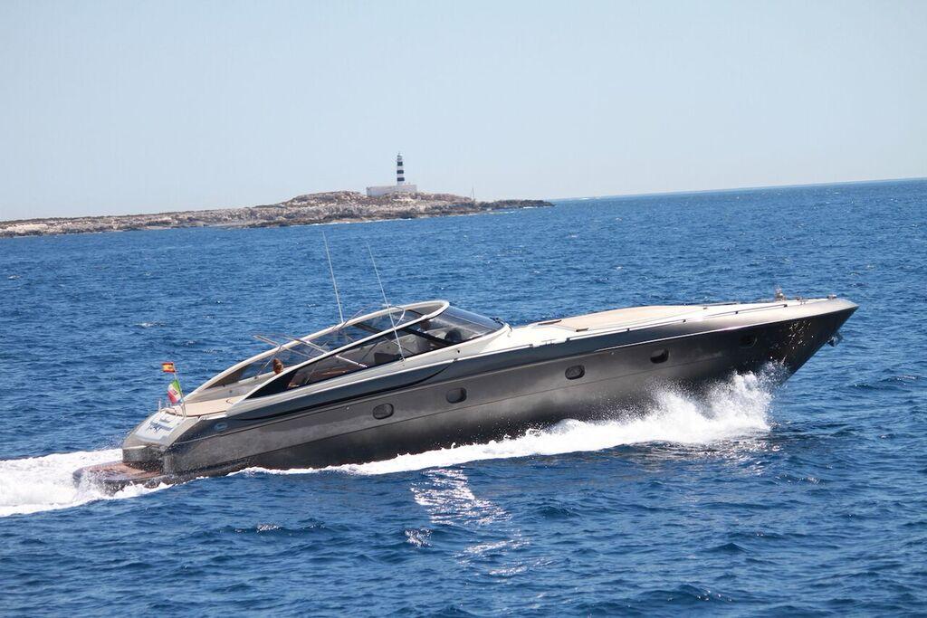 54 Baia Aqua Ibiza Boat Yacht