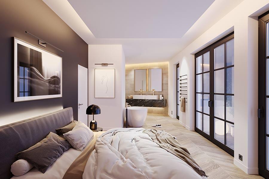Luxus Schlafzimmer
