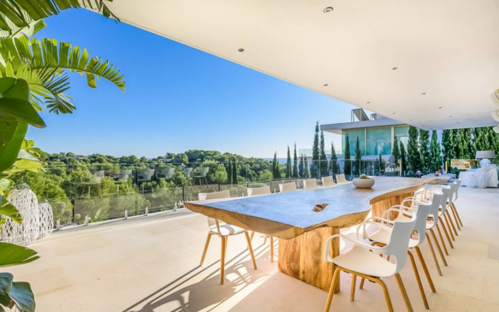 13 Villa In Cap Martinet Ibiza Kingsize.com