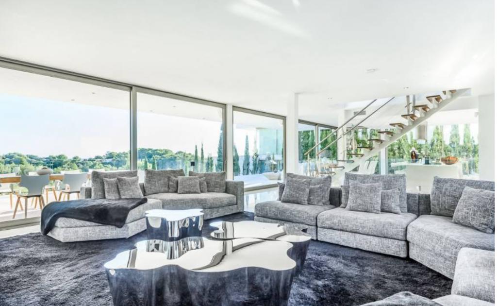9 Villa In Cap Martinet Ibiza Kingsize.com